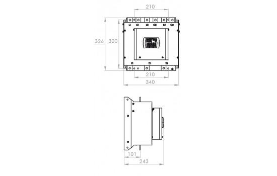 Avviatori Trifase - Softstarter 170A