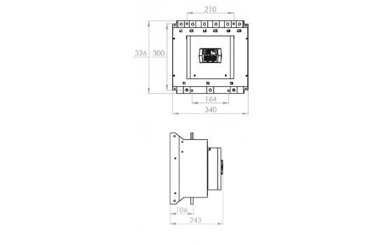 Avviatori Trifase - Softstarter 270A